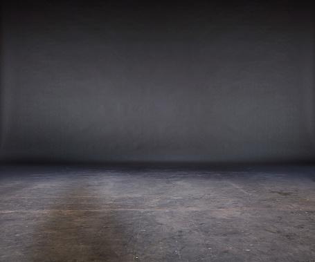 Gray Color「Grunge Studio」:スマホ壁紙(18)