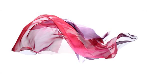 透明「フラインググラデーションシルクから、パープル、ピンク」:スマホ壁紙(6)