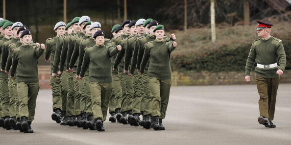 Simplicity「Army Recruits Go Through Basic Training In Winchester」:写真・画像(7)[壁紙.com]