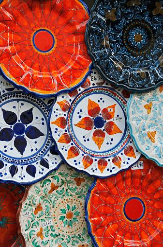 Lipari Island「Colourful ceramics typical of the Aeolian Islands」:スマホ壁紙(18)