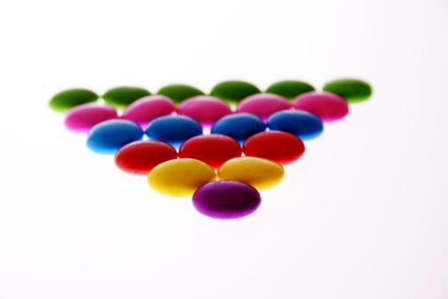 Milk Chocolate「Colourful candies」:スマホ壁紙(1)