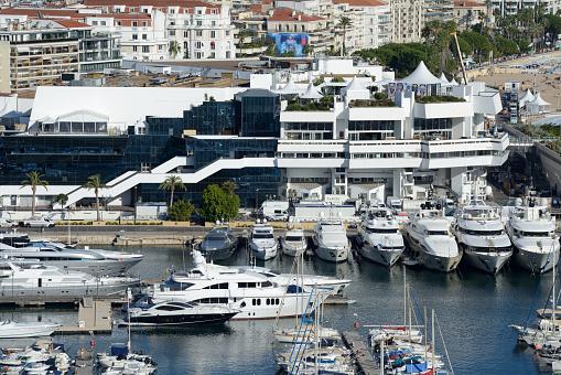 International Cannes Film Festival「Palais des Festivals et des Congrès & Luxury Yachts Cannes」:スマホ壁紙(3)