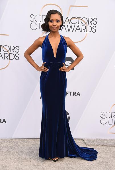 Halter Top「25th Annual Screen Actors Guild Awards - Arrivals」:写真・画像(13)[壁紙.com]
