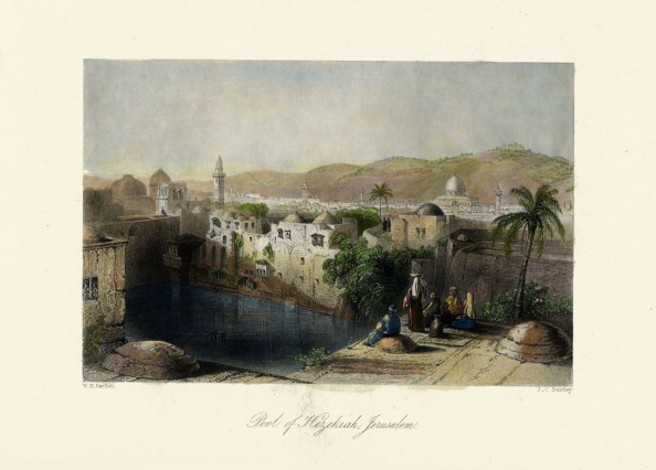 1840-1849「The Holy Land - Pool of Hezekiah, Jerusalem. - Bible」:写真・画像(17)[壁紙.com]