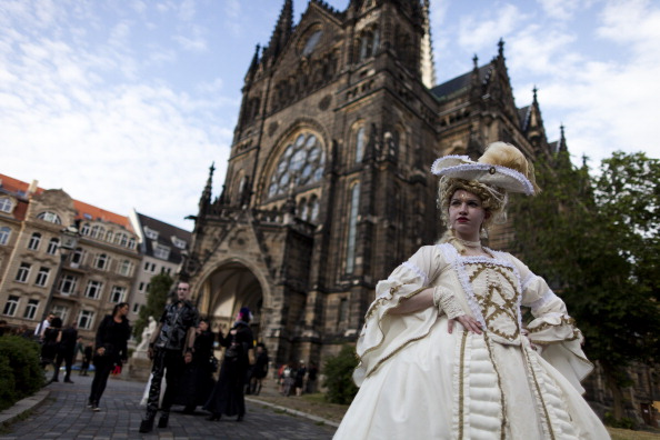 Gothic Style「Goths Gather In Leipzig For Annual Music Fest」:写真・画像(15)[壁紙.com]