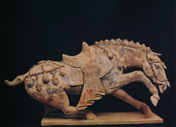 Animal Representation「'Pottery Figure of a Horse - T'Ang Dynasty', c7th to 10th century AD, (1936)」:写真・画像(12)[壁紙.com]