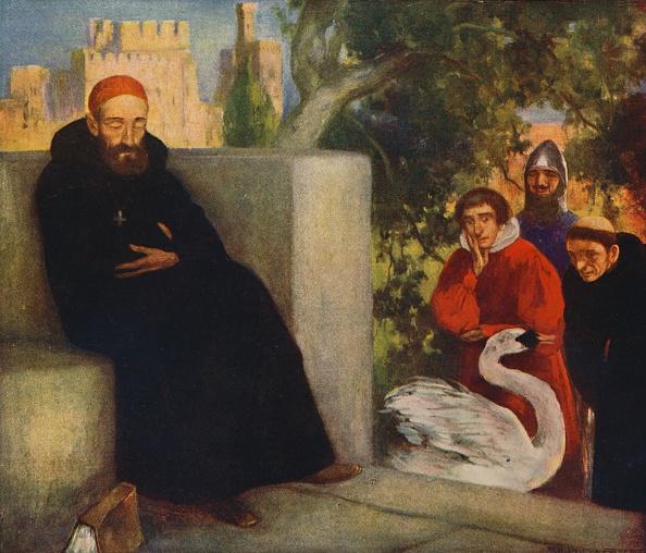 Benedictine「Saint Hugh Of Lincoln And The Swan」:写真・画像(13)[壁紙.com]
