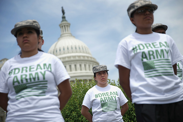 USA「Undocumented Immigrants Wishing To Join The Military Discuss Their Cause With Legislators In D.C.」:写真・画像(6)[壁紙.com]