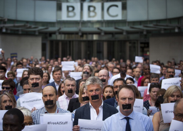 Middle East「Protests Against The Jailed Al-Jazeera Journalists」:写真・画像(10)[壁紙.com]