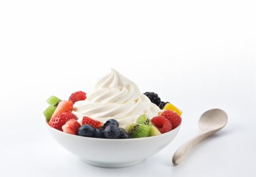 アイスクリーム「冷凍ヨーグルト、フルーツの XXXL」:スマホ壁紙(2)