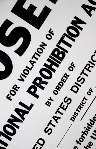 Forbidden「US Prohibition Sign」:スマホ壁紙(19)