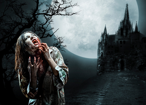 zombie「Zombie in Old Cemetery」:スマホ壁紙(6)
