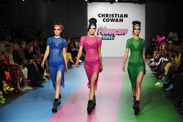 ピンク色のドレス「Christian Cowan x The Powerpuff Girls Runway Show」:写真・画像(10)[壁紙.com]