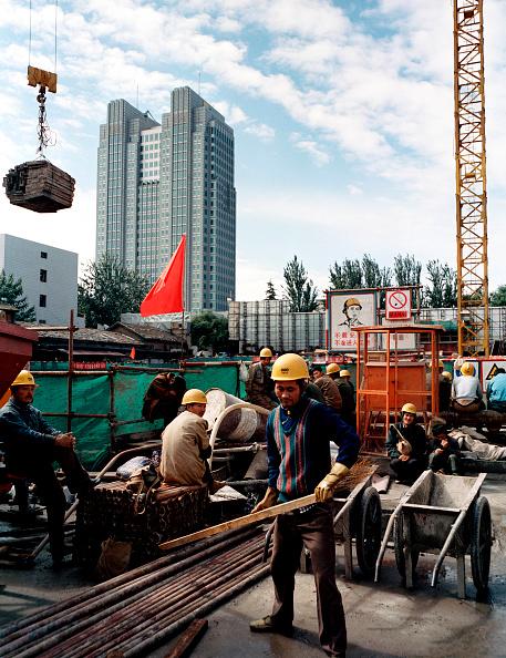 Construction Machinery「Contruction site near second ring road, Beijing, China」:写真・画像(16)[壁紙.com]