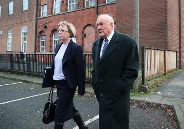 Christopher Furlong「Broadcaster Stuart Hall Appears In Court Charged With Indecent Assault」:写真・画像(10)[壁紙.com]