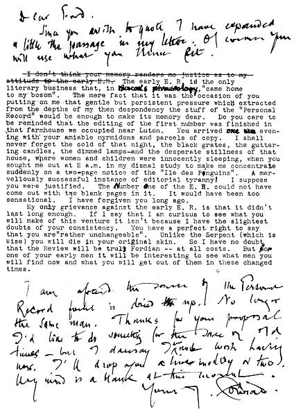 Manuscript「Joseph Conrad - Handwritten」:写真・画像(3)[壁紙.com]