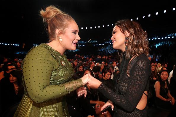 Adele - Singer「The 59th GRAMMY Awards - Roaming Show」:写真・画像(14)[壁紙.com]