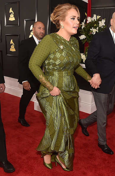 グラミー賞「The 59th GRAMMY Awards - Red Carpet」:写真・画像(7)[壁紙.com]