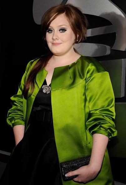 歌手 アデル「51st Annual Grammy Awards - Red Carpet」:写真・画像(17)[壁紙.com]