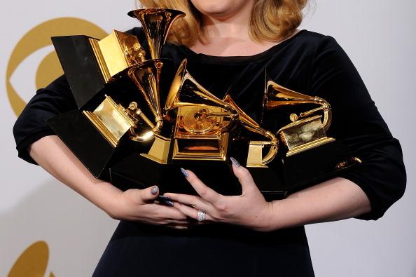 Grammy Award「The 54th Annual GRAMMY Awards - Press Room」:写真・画像(5)[壁紙.com]