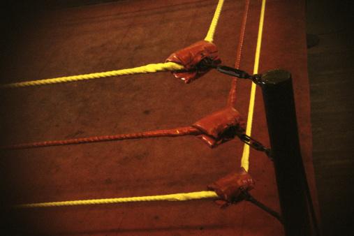 Corner「Padded corner of wrestling ring」:スマホ壁紙(1)