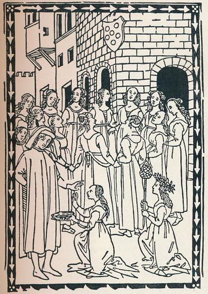 16th Century「Canzone A Ballo, 1568, (1917).」:写真・画像(4)[壁紙.com]