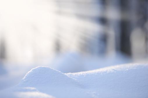 雪景色「新鮮な雪」:スマホ壁紙(5)