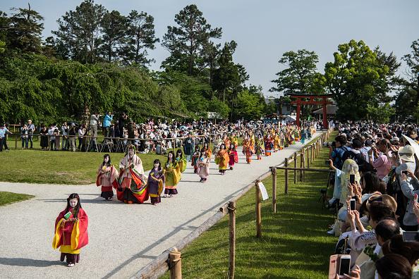 日本の神社「Aoi Festival In Kyoto」:写真・画像(7)[壁紙.com]
