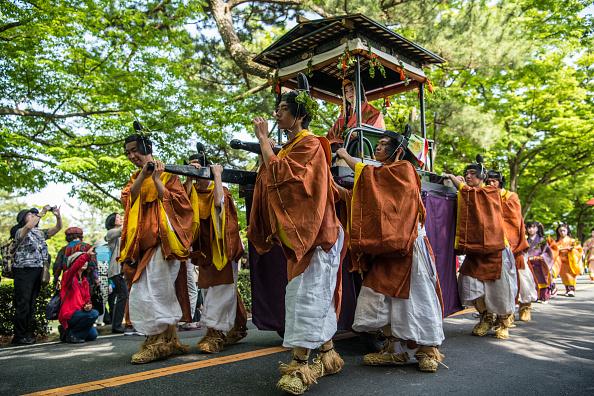 日本の神社「Aoi Festival In Kyoto」:写真・画像(8)[壁紙.com]