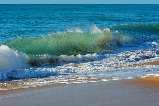90マイルビーチ「Sandy Beach with Breakers」:スマホ壁紙(13)