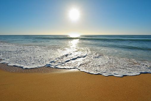 90マイルビーチ「Sandy Beach with Sun」:スマホ壁紙(18)