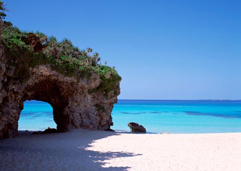 岩「Sandy Beach」:スマホ壁紙(3)