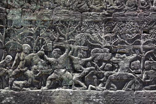 Battle「Temple ruins at Angkor Wat」:スマホ壁紙(19)