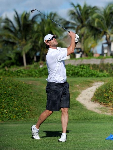 Sports Training Clinic「Sandals Emerald Bay Celebrity Getaway and Golf Weekend - Day Three, Golf Clinic with Greg Norman and Golf Tournament」:写真・画像(13)[壁紙.com]