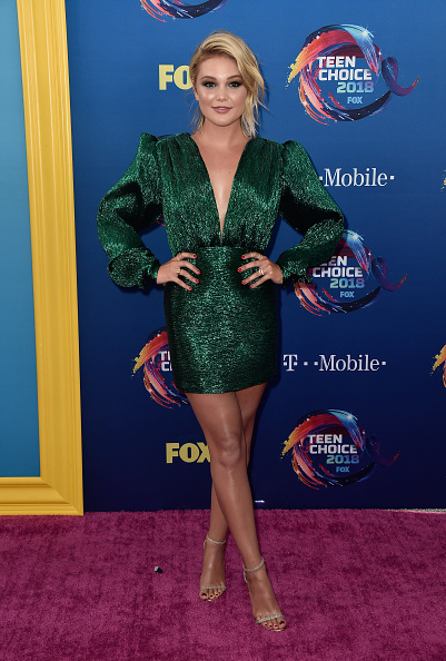 Olivia Holt「FOX's Teen Choice Awards 2018 - Arrivals」:写真・画像(18)[壁紙.com]