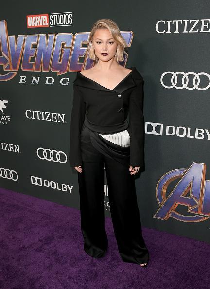 "Olivia Holt「Los Angeles World Premiere Of Marvel Studios' ""Avengers: Endgame""」:写真・画像(3)[壁紙.com]"