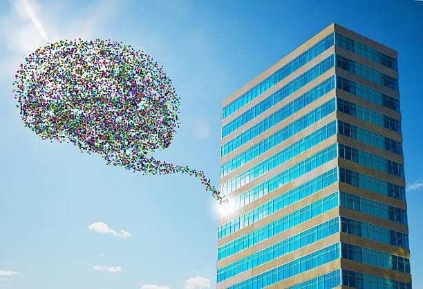 Data Cloud From Office Building:スマホ壁紙(壁紙.com)