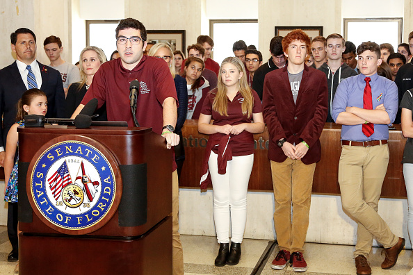Tallahassee「Parkland Students, Activists, Rally At Florida State Capitol For Gun Control」:写真・画像(10)[壁紙.com]