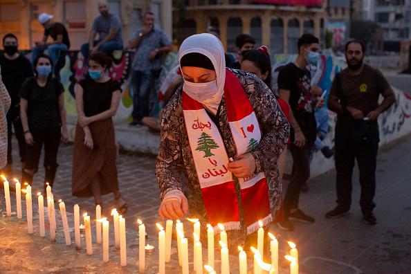 Exploding「Beirut Marks One Month Since Deadly Port Explosion」:写真・画像(8)[壁紙.com]