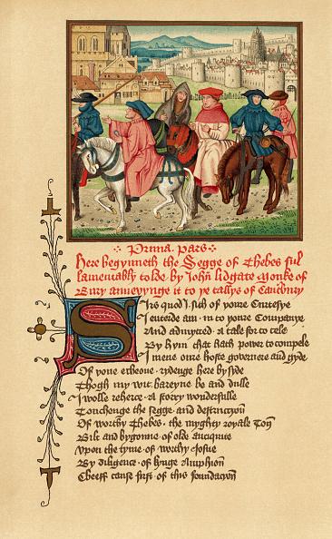 Literature「Canterbury pilgrims portrait -」:写真・画像(9)[壁紙.com]