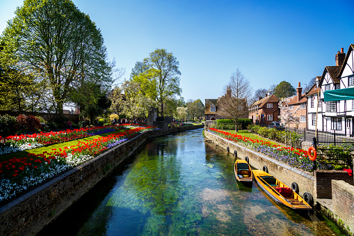 English Culture「Canterbury Canal」:スマホ壁紙(18)