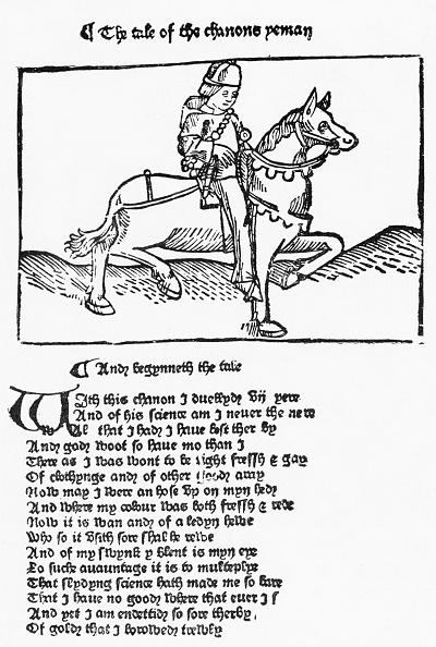 Circa 14th Century「Canterbury Tales by Geoffrey Chaucer」:写真・画像(9)[壁紙.com]