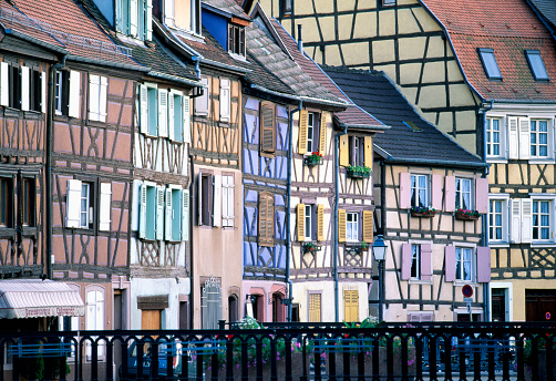 1990-1999「Half-Timber Row Houses in Colmar」:スマホ壁紙(11)