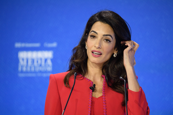 Amal Clooney「Global Conference On Press Freedom – Day One」:写真・画像(13)[壁紙.com]