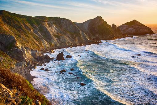 California State Route 1「Rocky Coastline of Central California」:スマホ壁紙(3)