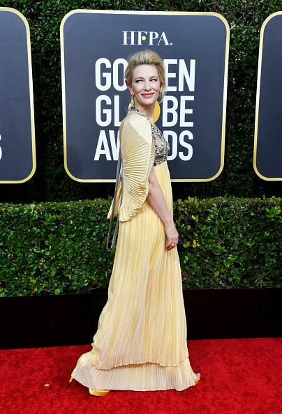 Yellow Dress「77th Annual Golden Globe Awards - Arrivals」:写真・画像(1)[壁紙.com]