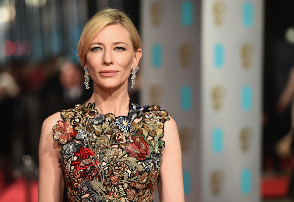 Cate Blanchett「EE British Academy Film Awards - Red Carpet Arrivals」:写真・画像(5)[壁紙.com]