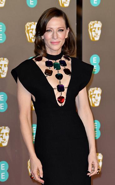 Cate Blanchett「EE British Academy Film Awards - Red Carpet Arrivals」:写真・画像(17)[壁紙.com]