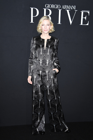 ブランド ジョルジオアルマーニ「Giorgio Armani Prive : Front Row - Paris Fashion Week - Haute Couture Fall/Winter 2016-2017」:写真・画像(11)[壁紙.com]
