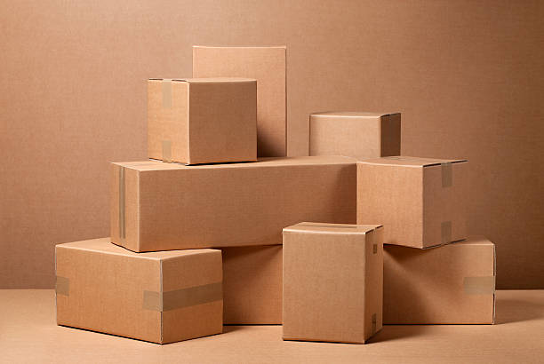 Cardboard boxes:スマホ壁紙(壁紙.com)